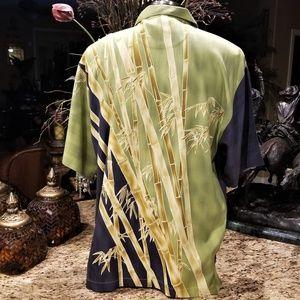Tommy Bahama Hawaiian Tropical Bamboo Reeds Shirt